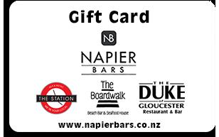 Napier Bars Gift Card