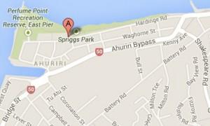Map The Boardwalk Napier