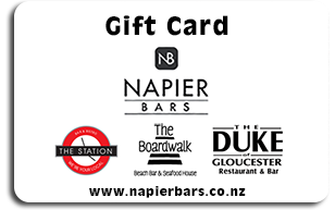 Napier Bars Gift Card